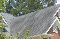 roof of a residential house